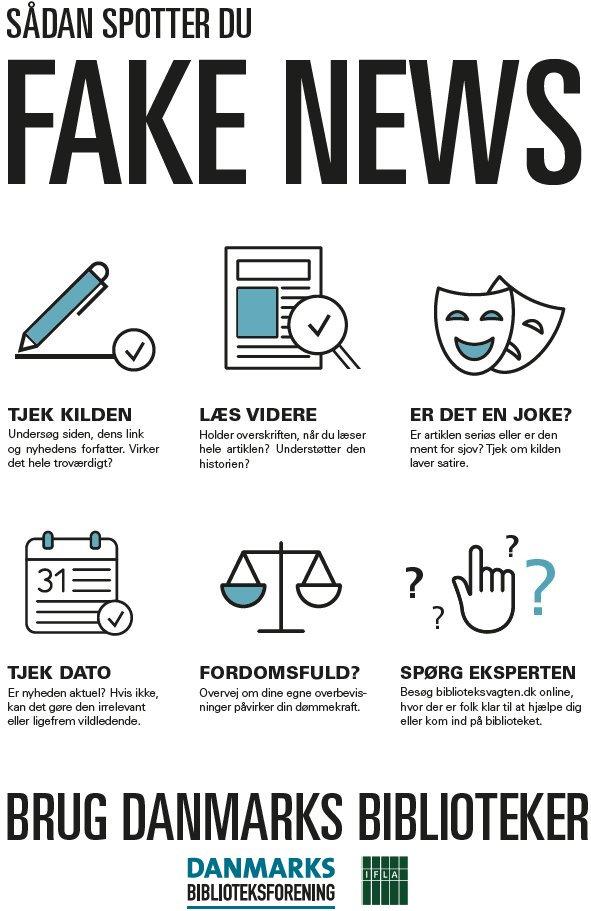 Sådan spotter du fake news