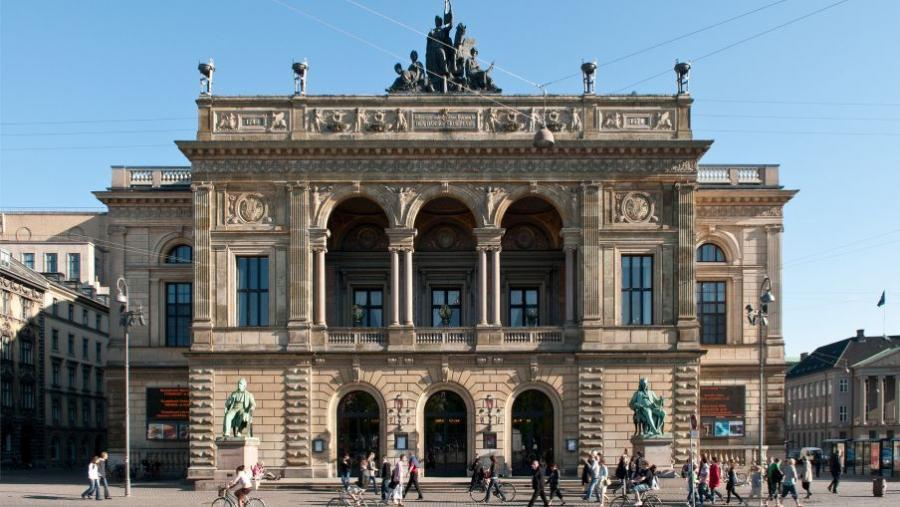 Det Kongelige Teater på Kongens Nytorv foto