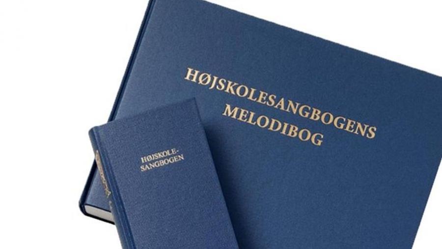 Forsider til Højskolesangbogen og Højskolesangbogens melodibog